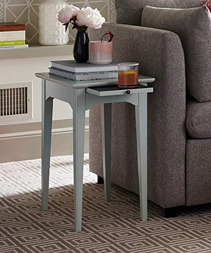 Young House Love 811D817 Valet Side End Table, Blue