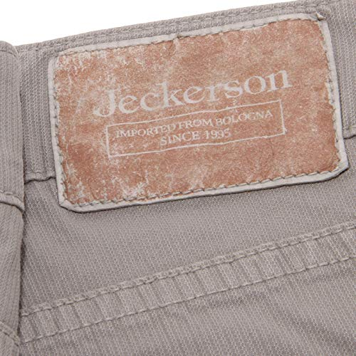 Cotton Pantalone Grey Jeckerson 5 Trouser 4956x Grigio Man Uomo Tasche FWYgpq