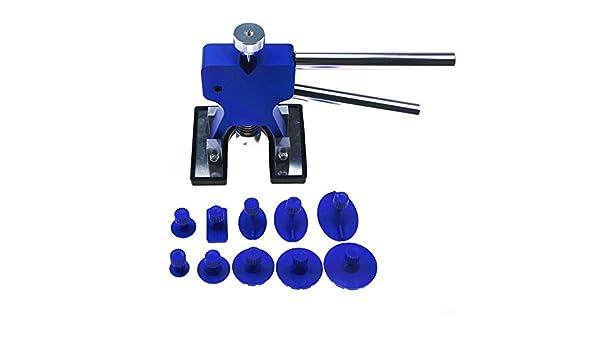 Qiilu 36pcs Paintless Dent Puller Tabs 8-48mm Paintless Dent Removal Puller Colorful Dent Repair Kit Glue Puller Sets Tabs