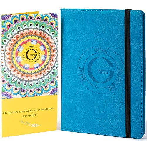 Daily Planner 2019 for Goal Setting | Weekly Planner 2019 for Productivity, Happiness, Passion | Undated Monthly Planner, Hardcover G Planner by Swedall