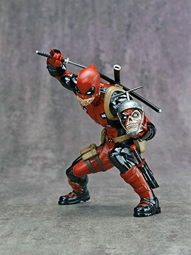 (Sdcc 2015 Exclusive Kotobukiya Deadpool Chimichanga Limited Edition Statue)