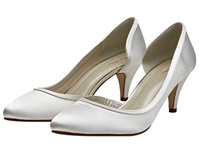 1bd37b141a8df Rainbow Club Abbie - Satin Court Shoes: Amazon.co.uk: Shoes & Bags