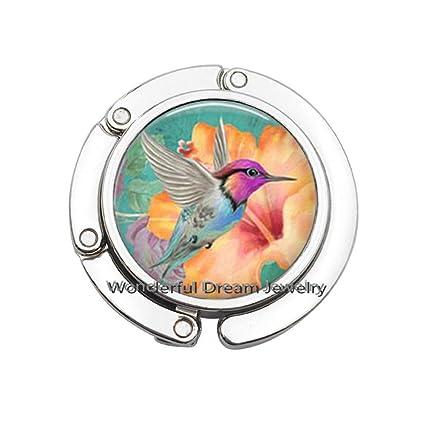Pu211 - Gancho para monedero de colibrí con gancho, diseño de ...