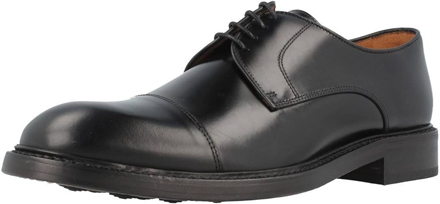 TALLA 40.5 EU. Lottusse L6723, Zapatos Derby para Hombre