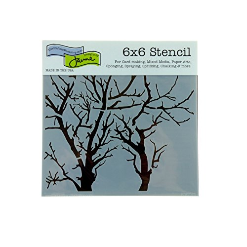 Crafter's Workshop, The Stencil 6x6, Branches Rev by Crafter's Workshop, The