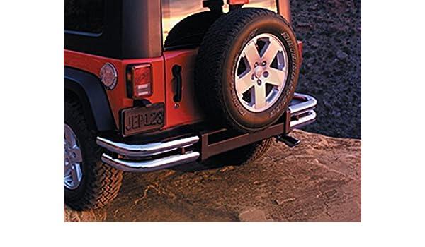 "Rear 3/"" Tube Bumper W//O Hitch for Jeep Wrangler JK 2007-2018 Smittybilt JB48-R"