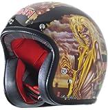 Rockhard American Iron Maiden Series 3 Graphic Classic Helmet (Small)