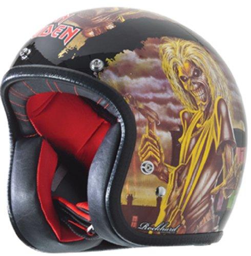Rockhard American Iron Maiden Series 3 Graphic Classic Helmet (Classic Helmet)
