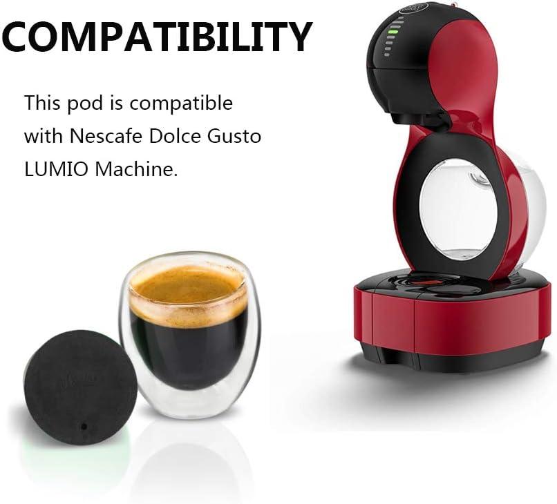 Amazon.com: Cápsulas de café recargables Dolce Gusto para ...