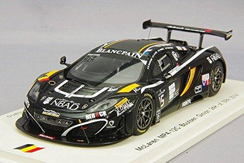 1/43 McLaren MP4-12C 24H SPA 2014 K. A. Ojjeh - O. Grotz - F. Vervisch - G. Pantano #15 SB100