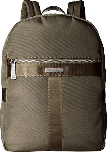 Tommy Hilfiger Men's Darren Backpack Codura Nylon Military Green Backpack
