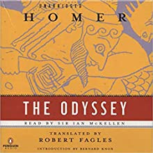 The Odyssey Audiobook by  Homer, Robert Fagles - translator Narrated by Ian McKellen