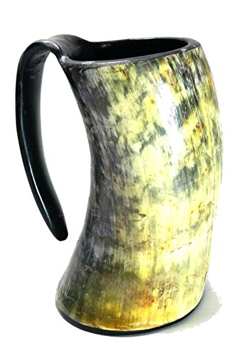 AleHorn Handcrafted Drinking Horn Tankard product image