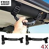 4X Unlimited Grab Handles Jeep Wrangler Roll Bar Yj Tj Jk Cj Off Road Accessory