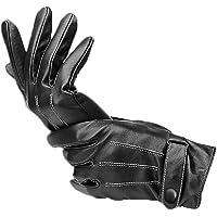 1 par de luvas masculinas de couro de inverno BESPORTBLE, para dirigir, andar de motocicleta, dirigir, andar de…