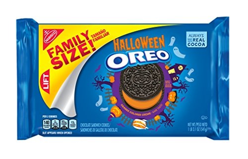 Oreo Seasonal Halloween Cookies, Family Size, 20 Ounce