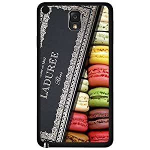 Yummy Colorful Macaroons in Designer Box Hard Snap on Phone Case (Note 3 III) by lolosakes