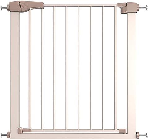 QIANDA Barrera de Seguridad Bebé Puerta de la Escalera Eficaz Barrera Abierta como Una Puerta Sin Perforar Guardia De La Escalera, Ancho 75-159cm (Size : 138-145cm): Amazon.es: Hogar