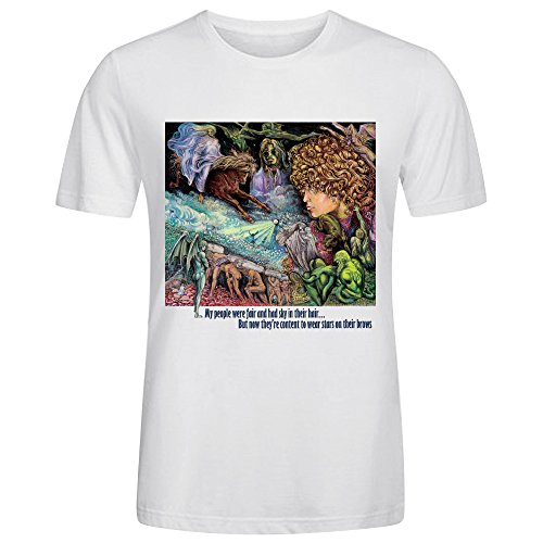 T Rex My People Were Fair And Had Sky In Their Hair But Now Theyre T Shirts For Men O Neck - People Big Cheeks With
