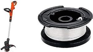 BLACK+DECKER String Trimmer/Edger with Trimmer Line, 30-Foot, 0.065-Inch (ST8600 & AF-100-3ZP)