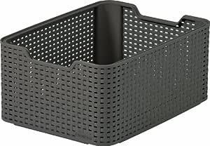 Curver Style, Caja Organizadora, Chocolate, M (18 L)