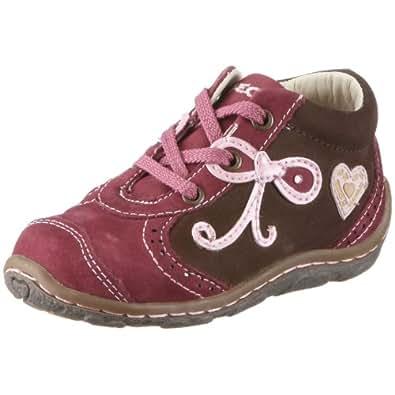 Geox Baby Lolly - Zapatos de cuero nobuck para niños, color morado, talla 19