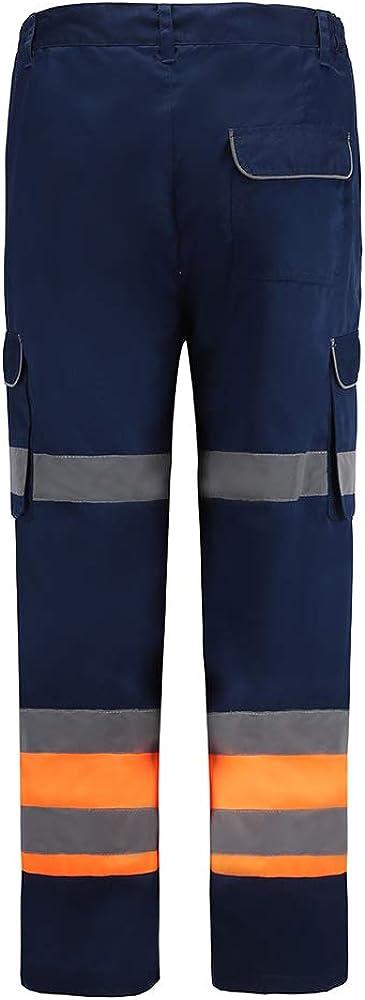 AYKRM Pantalon de s/écurit/é Travail