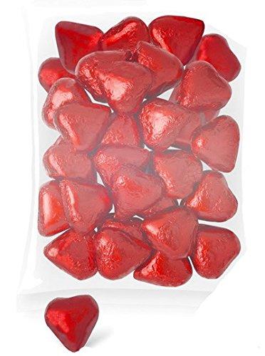 DISOK - Corazones Chocolate (Bolsa 140 Unids.) - Corazones Bombones para Bodas: Amazon.es: Alimentación y bebidas