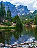 Notebook: Rocky Mountains Canada Canadian lake