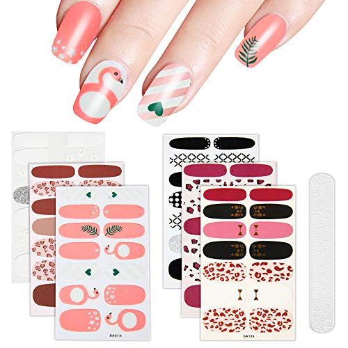 Flamingo Stickers Adhesive Manicure Buffers product image