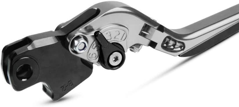 Motos Palancas de Embrague y Palanca de Freno para K1200R K1200S R1200GS K1300R K1300S K1600GT R1200R R1200S HP2 Enduro//Megamoto-Negro+Negro+Negro+Negro