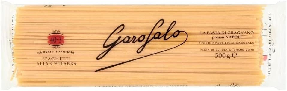 Garofalo Spaghetti Alla Chitarra (500g): Amazon.es: Alimentación y ...