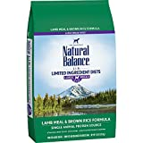 Natural Balance Organic Dog Dry Foods Review and Comparison