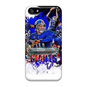 Durable Defender Case For Iphone 5/5s Tpu Cover(new York Giants)
