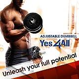 Yes4All Adjustable Dumbbells - 60 lb Dumbbell