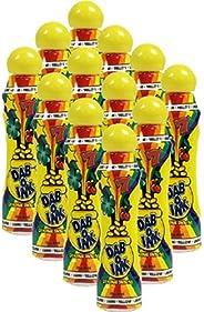 One Dozen 3oz Dab-O-Ink Yellow Bingo Dauber