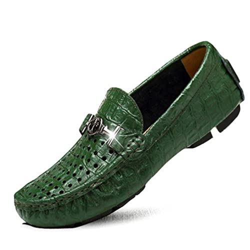 Zapatos de Hombre 2018 Slip On Driving Shoes - Mocasines Casuales Elegantes Moda - Cuero -