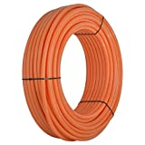SharkBite U865O300 5/8-Inch PEX Tubing, 300 Feet, ORANGE, for radiant heat, hydronic heating and tile floor heating systems.