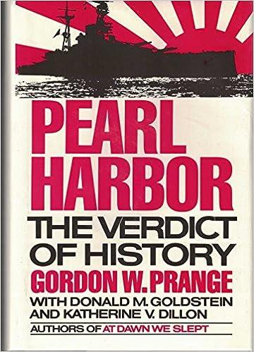 Book Pearl Harbor: The Verdict of History