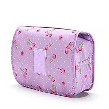 84796f3108 Amazon.com   Wash and rinse bag storage bag travel storage Hanging new wash  bag multi-function cosmetic bag pueple   Beauty