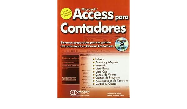 Acces para Contadores+Cd. Sistemas Preparados para la Gestion del Profesional en ciencias Economicas.: Amazon.es: Matias S. Garcia Fronti: Libros en idiomas ...