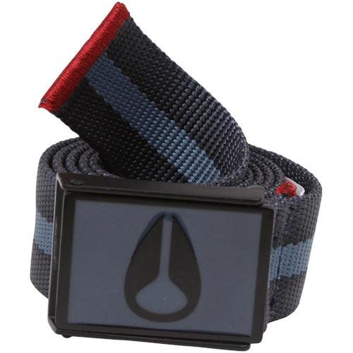Nixon Mono Enamel Wings Belt - Men's ( Steel Blue/Dark Red : Belt )