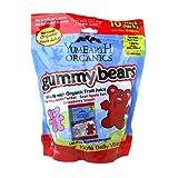 Yummy Earth Organic Gummy Bears 10 Snack Packs 7 oz (Pack of 2)