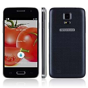 4.0 pulgadas JIAKE G900W MiNi Android 4.4 3G Smartphone SC7715 Single-Core 1.2GHz 0.3MP/2.0MP Dual Cameras Bluetooth WIFI-Negro