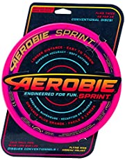 "Aerobie Sprint Ring - 10"" Diameter, Soft Rubber Edged Flying Disc"