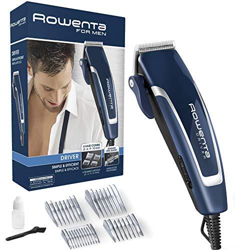🥇 Rowenta – Hair Clippers Rowenta 222485 Inox Blue Black