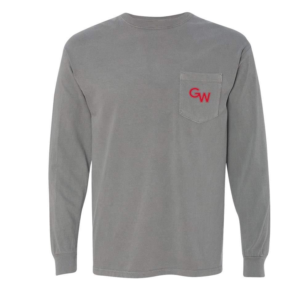 NCAA Gardner Webb Bulldogs PPGRU03 Mens//Womens Long Sleeve Pocket T-Shirt