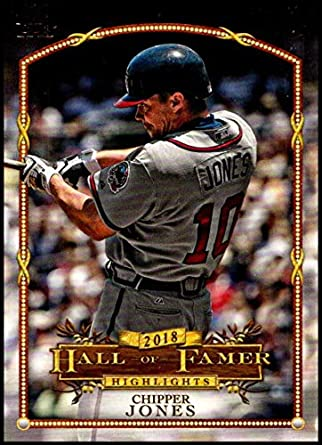 hot sales 7b902 93c9a Amazon.com: 2018 Topps Update Hall of Fame Highlights #HFH-6 ...
