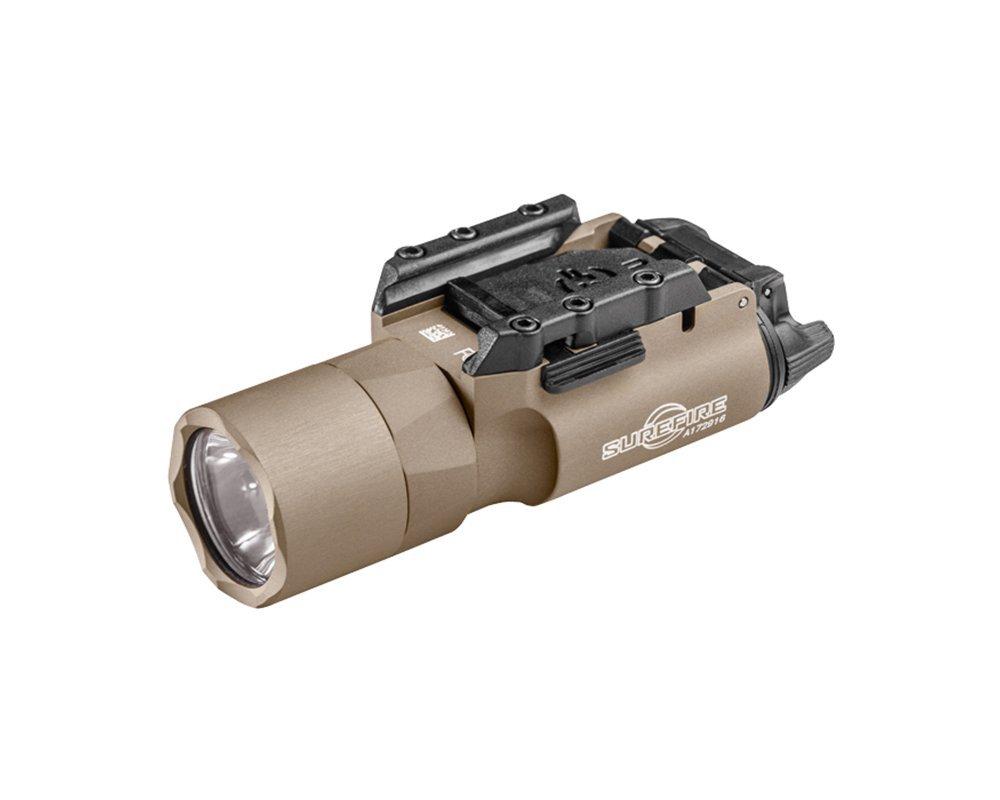 SureFire X300 Ultra LED Handgun or Long Gun WeaponLight with Rail-Lock Mount, Tan by SureFire