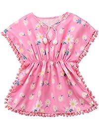 11038d11cf Toddler Baby Girls Swim Cover-up Beach Sundress Summer Poncho
